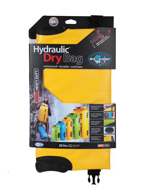 Sea to Summit Hydraulic - Accessoire de rangement - 35L jaune